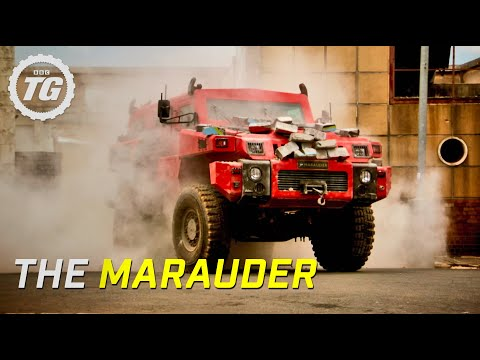 The Marauder - South Africa's Ten Ton Military Vehicle - Top Gear - BBC