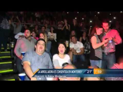 Las Noticias - Las Noticias - La Arrolladora se presentó en Monterrey, pero sin su vocalista Jorge Medina