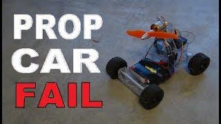 How To Build AN RC Car // Part 2 // Propeller Powered Rc Car FAIL!
