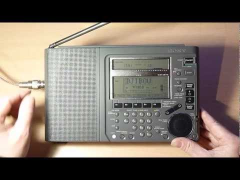 Sony ICF-SW77 - The best portable shortwave radio !?