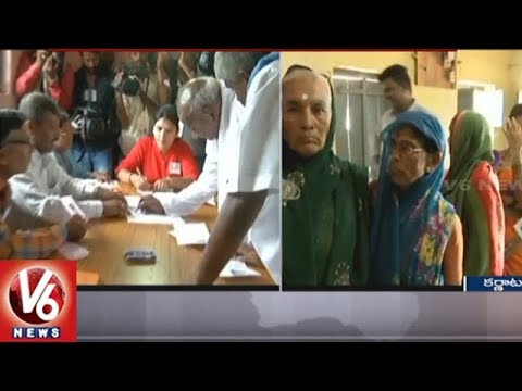 Assembly Election Polling Continues In All Over Karnataka State | V6 News
