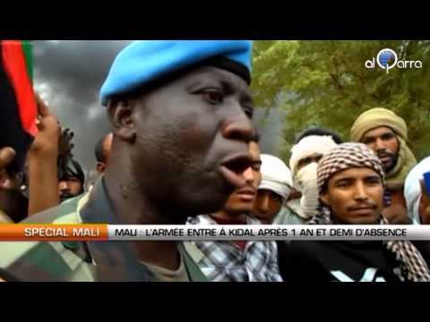 Mali : L'armée entre à Kidal après 1 an et demi d'absence