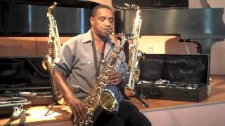 Lannie McMillan on the Accent Tenor Saxophone