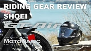 SHOEI GT-Air(ジーティーエアー) ライディングギア・レビュー  SHOEI GT-Air Review with Ninja 1000