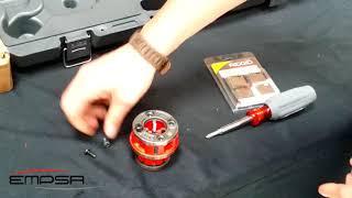 Roscado Manual con tarrajas RIDGID