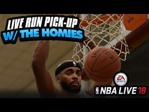 NBA LIVE 18 DEMO STREAM! LIVE RUN WITH THE HOMIES & HOW TO UNLOCK ALL ITEMS IN CRATES
