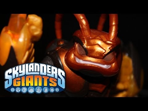 SKYLANDERS GIANTS - SWARM GIANT SKYLANDER REVIEW