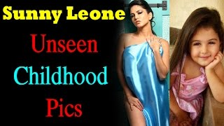 Sunny Leone Rare and Unseen Childhood Photos | Sunny Leone Family Pictures