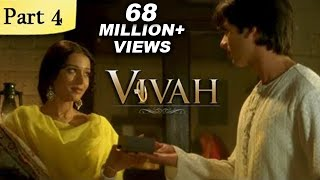 Download Vivah (HD) - 4/14 - Superhit Bollywood Blockbuster Romantic Hindi Movie - Shahid Kapoor & Amrita Rao 3Gp Mp4