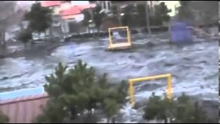 [FULL]Unseen Japan Tsunami video : Town destroyed in seconds