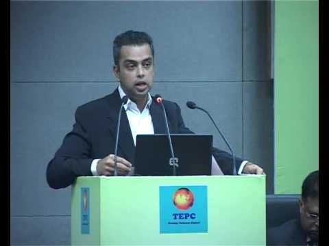 Milind Deora's speech during TEPC Buyer and Seller Meet 2012 at FICCI