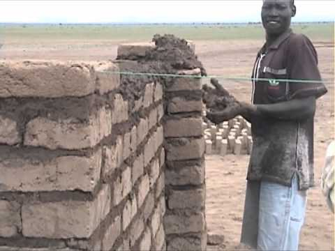 Brick-making in Kakuma, Kenya