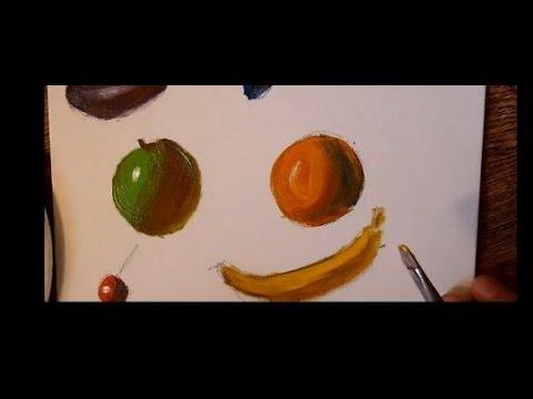 Cours de peinture la couleur des ombres youtube - Couleur de peinture beige ...