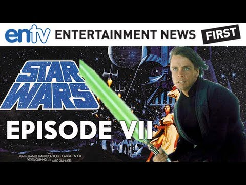 Star Wars Episode VII Update : Mark Hamill's Luke Skywalker Joining JJ Abrams Cast - ENTV
