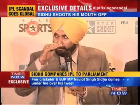 Navjot Singh Sidhu compares IPL to Parliament