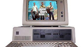 Grand Theft Auto V in Lenovo G405