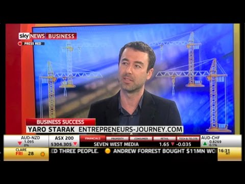 Yaro On The SkyNews Business Show (LIVE TV) With Heidi Armstrong Video