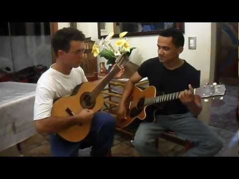 Hino ccb 235 com viola caipira e violão.... Genilson & Elicelmo