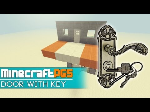 Door Lock – Door with working Key – Item Reader – Minecraft – 2MineCraft.com