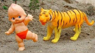 Khủng long, em bé, con voi, bò sữa hài hước - đồ chơi trẻ em FMC H1037B