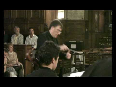 Dvorak, Serenade for Strings (excerpt - mvt 1) Patrick Botti - Concilium Musicum de Paris