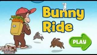 Curious George Bunny Ride gameplay to watch on youtube-Game Collecting Carrots for Bunnies