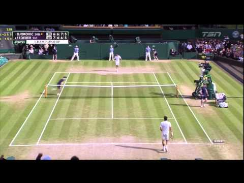 Federer Forces a 5th Set vs. Novak Djokovic in the 2014 Wimbledon Final