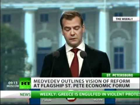 Medvedev shares how to make Russia world's top economy — RT.