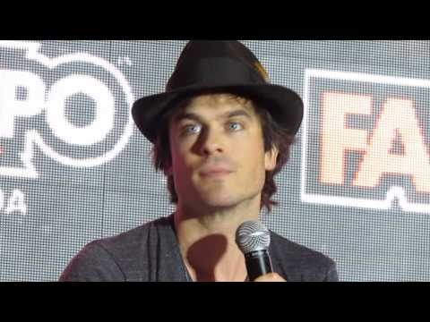 Ian Somerhalder @ Fan Expo 2014