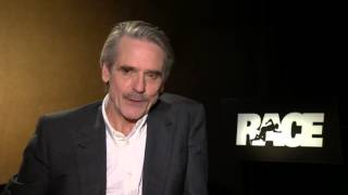 Race: Jeremy Irons Official Movie Interview