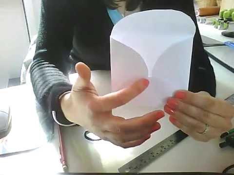Tutoriel scrapbooking cr er une enveloppe fleur youtube - Creer une enveloppe ...