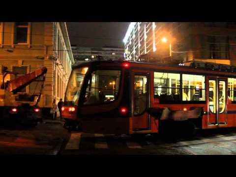 Двигаем трамвай к рельсам