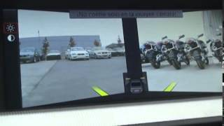 Управление салоном BMW M5 F10 HUD HEAD UP DISPLAY test 2012