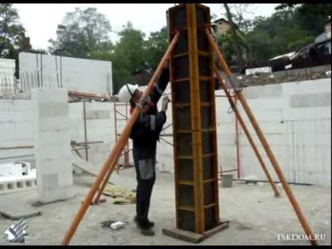 Опалубка колонны своими руками 108