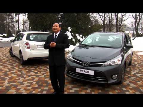 Toyota Verso новинка 2013