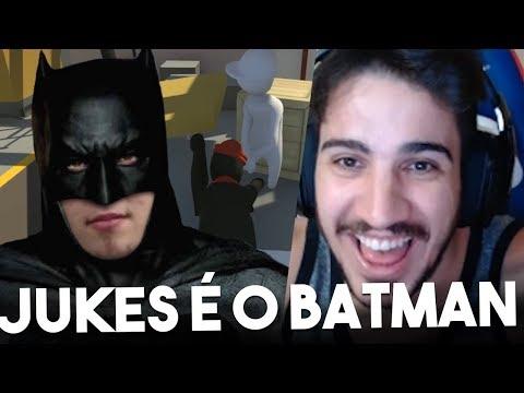 O JUKES VIROU O BATMAN! (ft. Jukes, Yoda e Zirigud) / Human: Fall Flat
