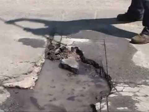 Cold Patch Pothole Repair / Ямочный ремонт