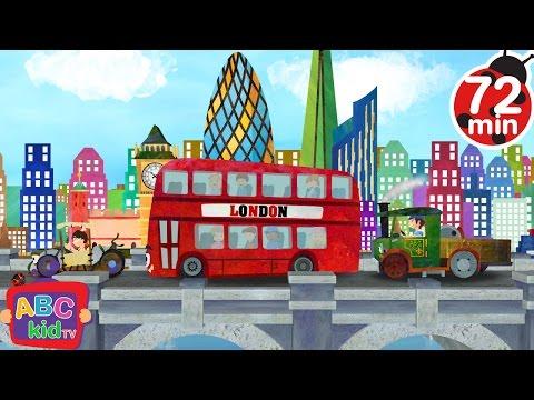 London Bridge is Falling Down   + More Nursery Rhymes & Kids Songs - ABCkidTV