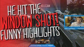 HE HIT THE WINDOW SHOT! (FUNNY BO2 MOMENTS)