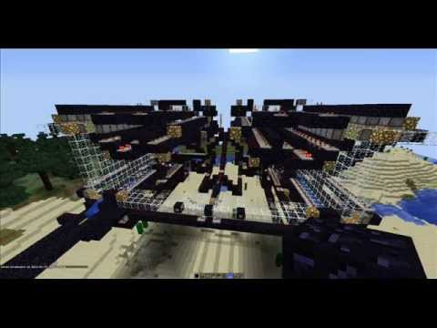 【Minecraft】 Zeppelin TNT Cannon ShowCase 【1.0.0】