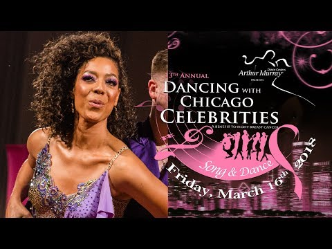 Karen Jordan at Dancing with Chicago Celebrities 2018