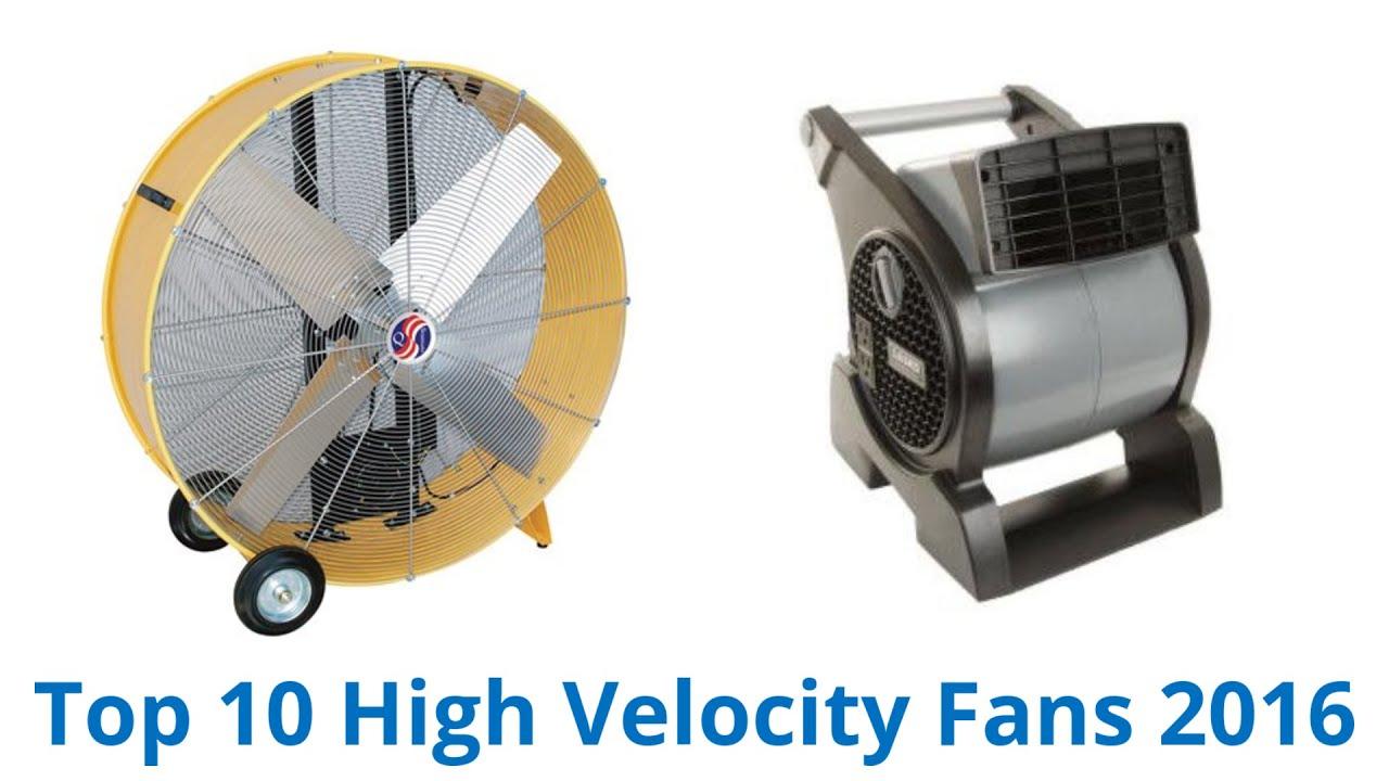 10 Best High Velocity Fans 2016