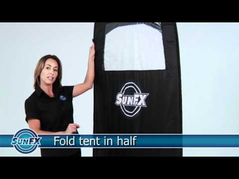 How To Fold a Tan Tent