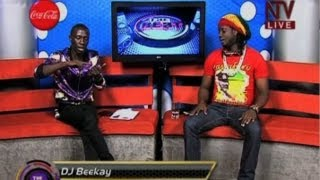 Bebe Cool Faces Off Deejay B.K Live On NTVTheBeat
