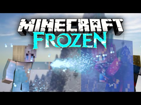 Minecraft - Frozen Mod Showcase! [Elsa, Anna, Kristoff, Let it Go + More!]