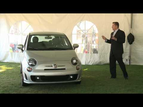 Fiat 500 T Turbo Introduction at Concorso Italiano