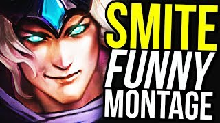 How To Be A REAL Support! (Smite Funny Montage)