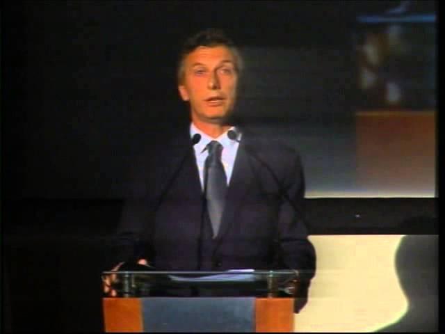 Discurso Mauricio Macri en Noche de Conciencia 2013