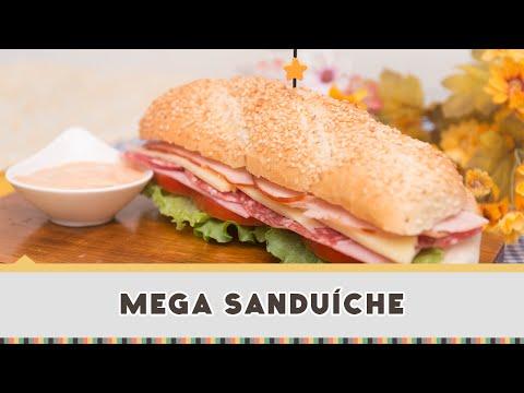 Mega Sanduíche - Receitas de Minuto #193
