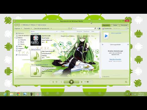 El Mejor Tema Para Windows Media Player Windows 7/8 (WMP12)